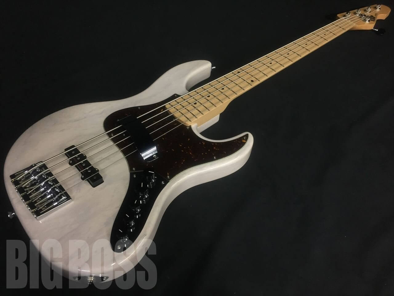 【受注生産】ESP(イーエスピー) AMAZE-AS-SL5/M (See Thru White)