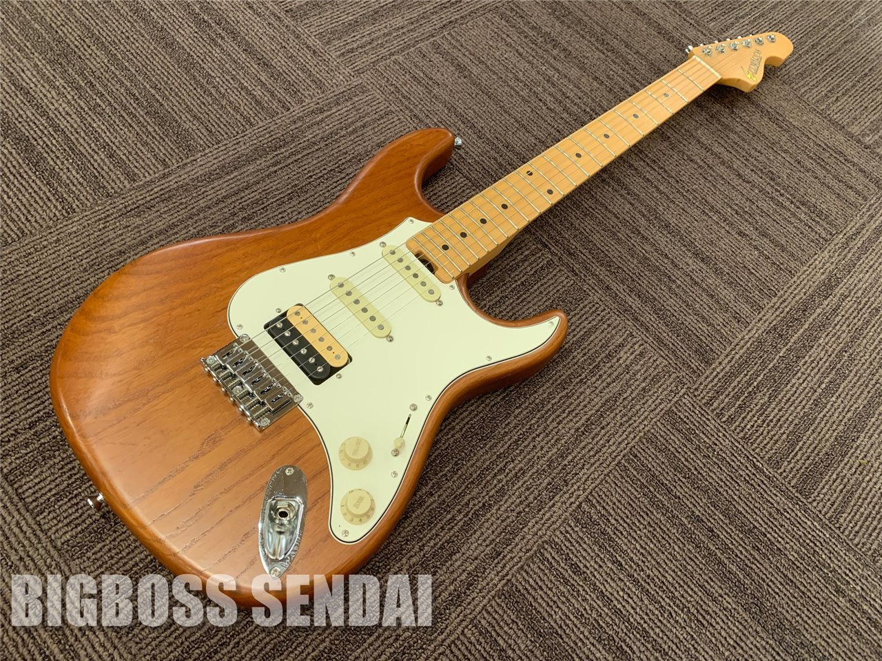 【即納可能】EDWARDS E-SUFFER / 家具Natural  / Maple Fingerboard(9mm Parabellum Bullet 滝 善充モデル)仙台店
