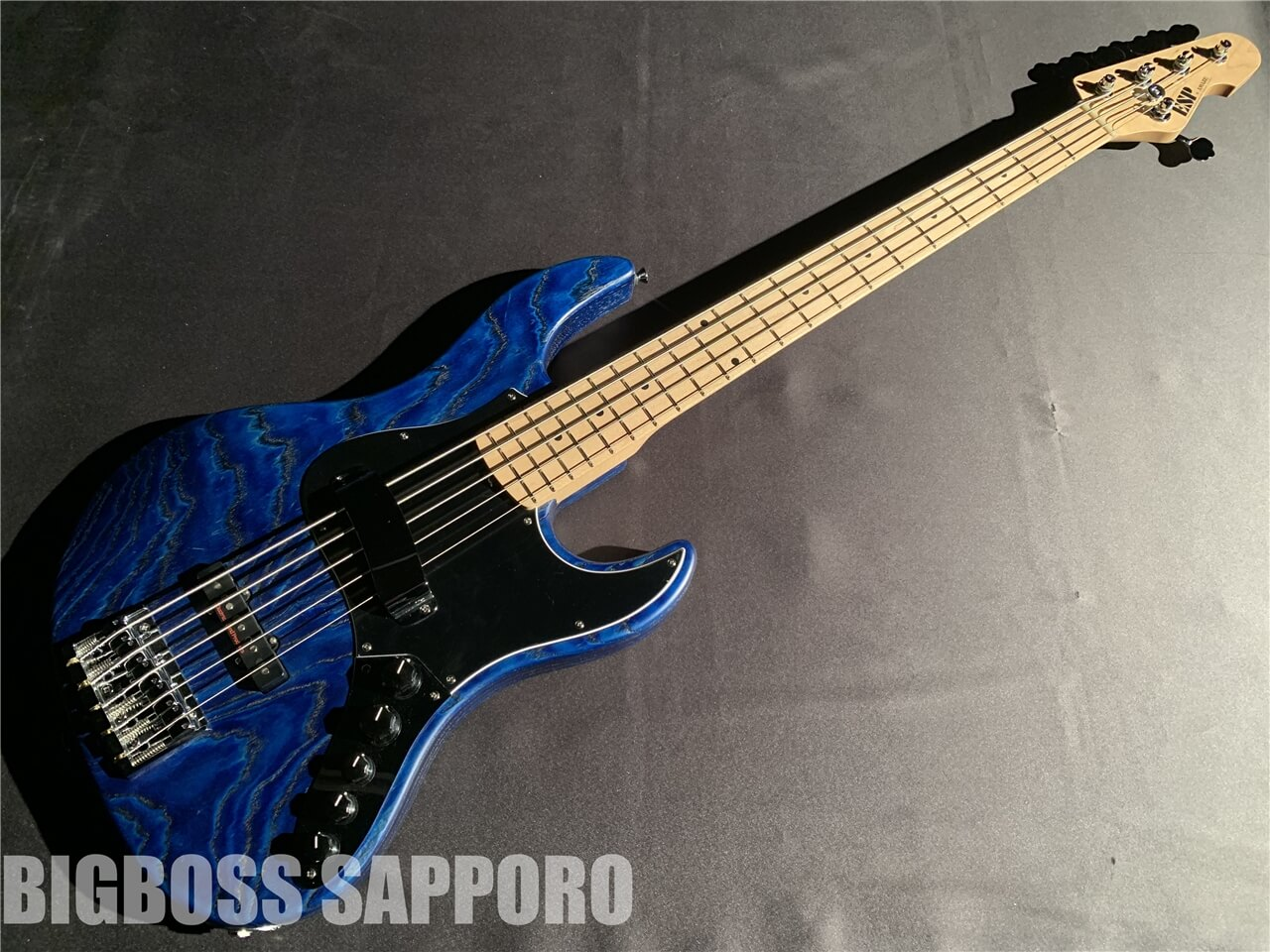 【即納可能】ESP(イーエスピー) AMAZE-AS-SL5/M DRIFTWOOD Series(Blue w/Black Filler) 札幌店