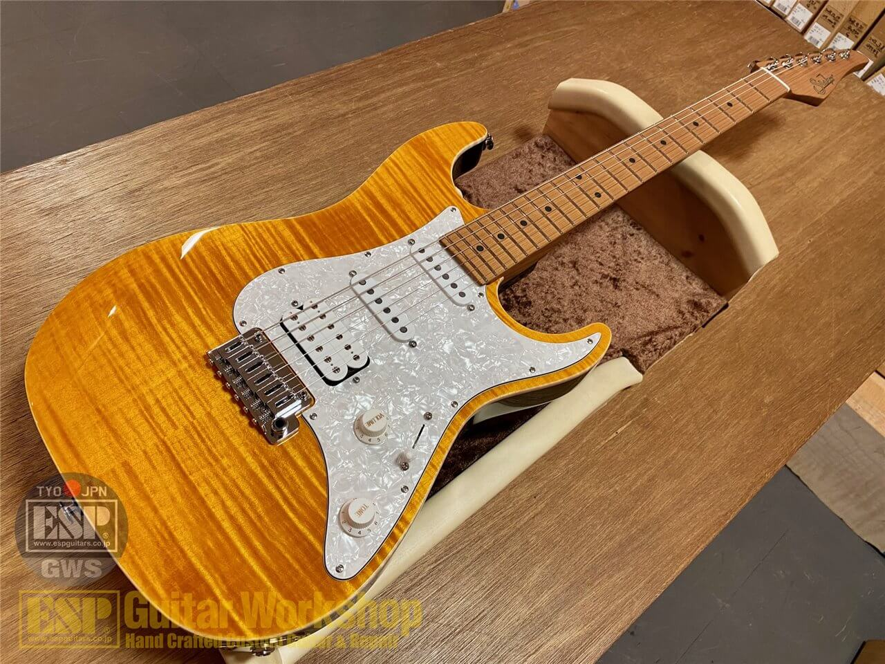 【即納可能】Suhr(正規輸入品) J Select Standard Plus/Trans Amber/Roasted Maple  GWS