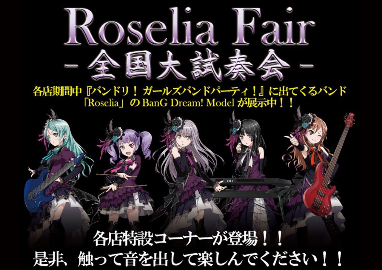 Roselia Fair!全国大試奏会!