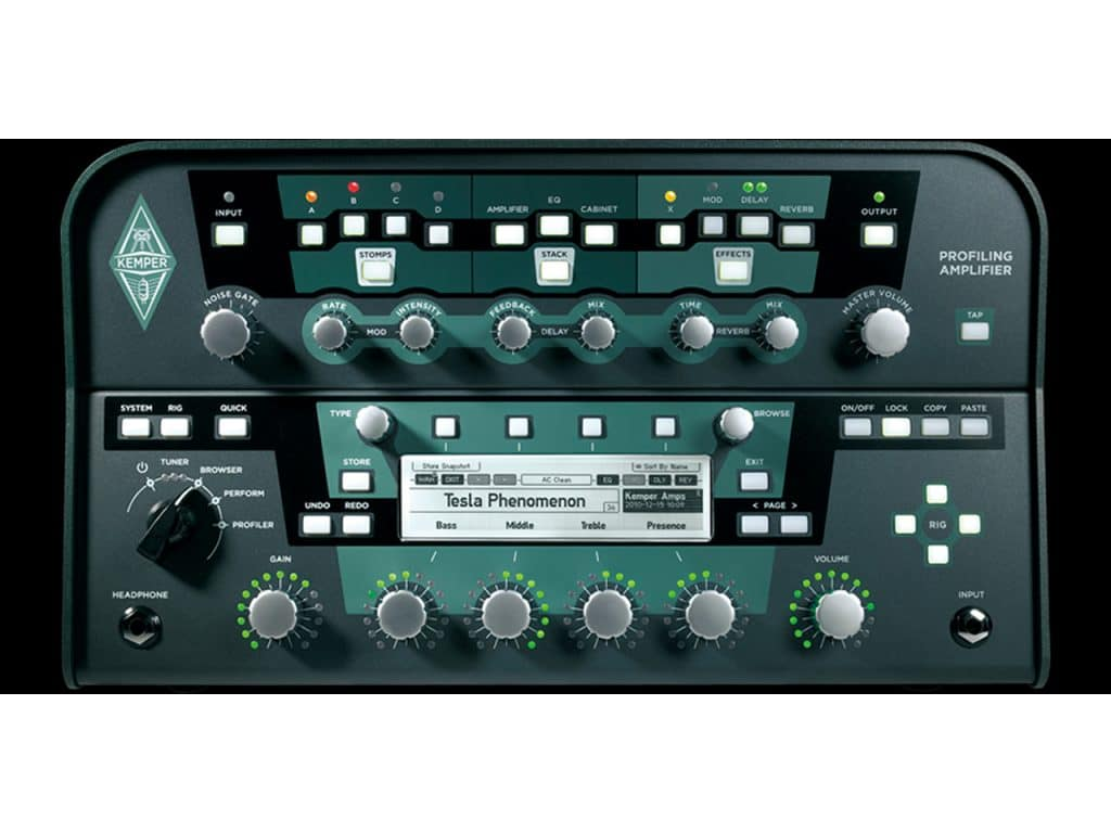 Profilling Amplifier / Rack