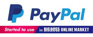 PayPal決済がご利用可能!