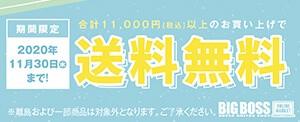 合計11,000円(税込)以上のお買い上げで送料無料!!